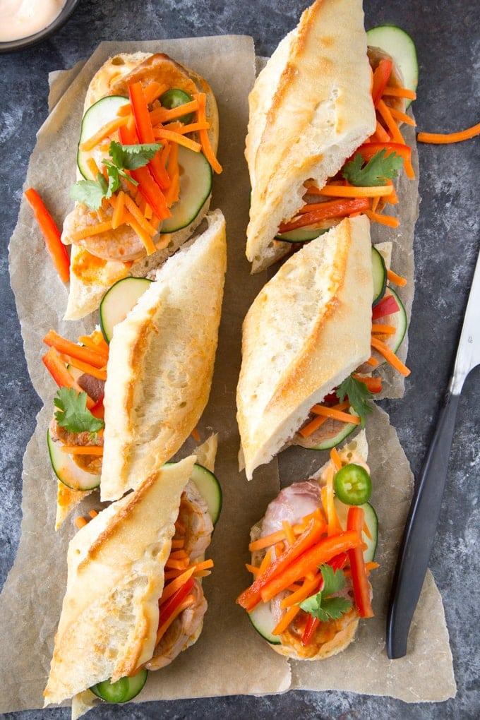 Quick & Easy Banh Mi Sandwich